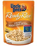 Uncle Ben's Ready Rice Chicken Whole Grain Brown, 8.8-Ounce Packages (Pack of 6)