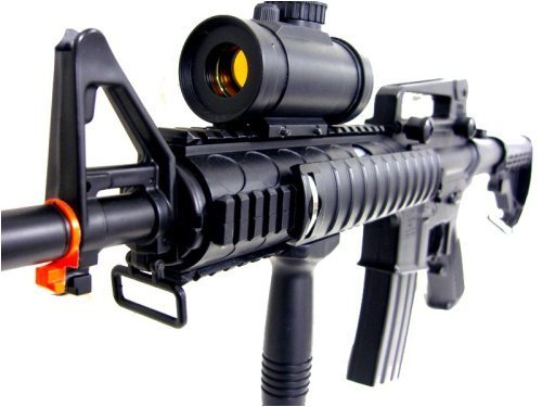 Heavy M4 M16 Replica Airsoft Gun Double Eagle M83 A2 Full Automatic Electric Rifle