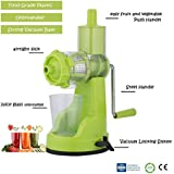Floraware Fruit & Vegetable Juicer Mixer Grinder, Green