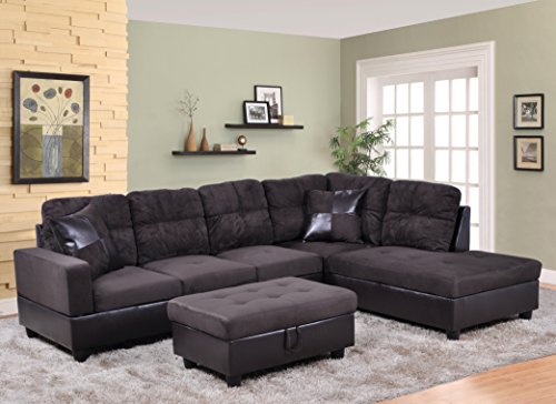 beverly-furniture-3-piece-microfiber-and-faux-leather-upholstery-left-facing-sectional-sofa-set-with
