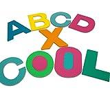 Puzzle tapis mousse - Certifié TÜV SÜD - Enfant alphabet & chiffres 86 pièces 32x32 cm Jeux éducatif