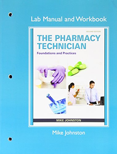 Oobloville january 2016 download ebook lab manual and workbook for the pharmacy technician foundations and practice by mike johnston michelle goeking michael hayter fandeluxe Images