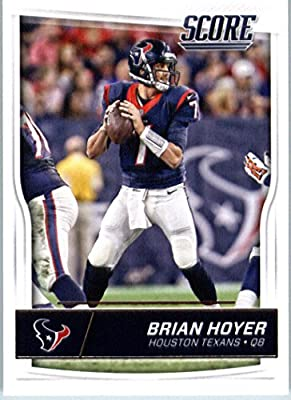 2016 Score #128 Brian Hoyer Houston Texans Football Card