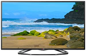 LG Electronics 47LA6200 47-Inch Cinema 3D 1080p 120Hz LED-LCD HDTV with Smart TV and Four Pairs of 3D Glasses