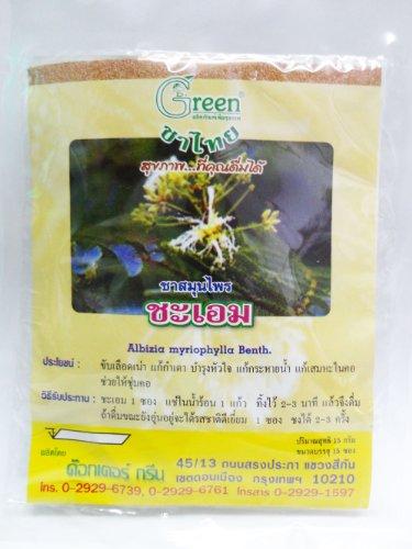Dr. Green Brand Albizia Myriophylla Tea 15G (15 Tea Bags) X 2 Pack Thai
