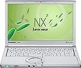 パナソニック Let's note NX4 12.1 型 ノートパソコン 【 Win7Pro32(8.1DG) / Corei5-5300U / 4GB / 320GB / 無線LAN / WEBカメラ / HDMI / ミニD-sub15ピン LTE 】