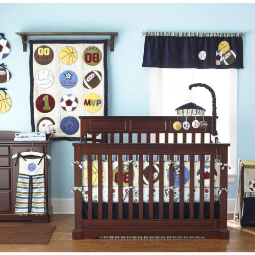 Too Good by Jenny Play Ball 9 Piece Crib Set