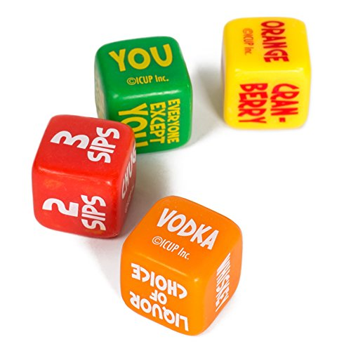 Juiced A Mixed Drinking Game Dice Set