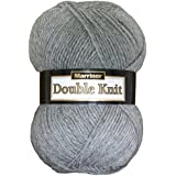 Marriner Double Knit 100G | DK Yarn/Wool | Acrylic (Silver)