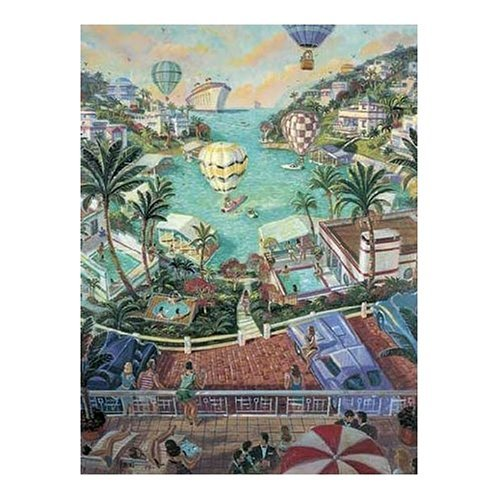 FX Schmidt Vacation Dreaming Michael Young With Applejack 500 Piece Jigsaw Puzzle