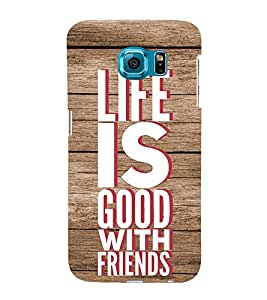 Life Quote 3D Hard Polycarbonate Designer Back Case Cover for Samsung Galaxy S6 Edge+ :: Samsung Galaxy S6 Edge Plus :: Samsung Galaxy S6 Edge+ G928G :: Samsung Galaxy S6 Edge+ G928F G928T G928A G928I