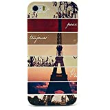 Malloom® Fashion Colorful Painted Pattern Hard Case Cover for iPhone 5 5G 5S