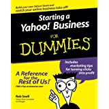Starting a Yahoo! Business For Dummies ~ Rob Snell