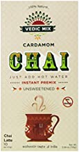 Vedic Mix Unsweetened Cardamom Chai Tea Latte 388 Ounce