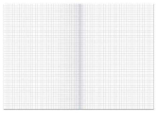 Ursus - Carta da protocollo a quadretti, formato A3 e A4, 80 g, 250 Bg