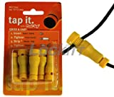 Lockitt Posi-Tap 6pc pack #621/6 10-12 awg Yellow
