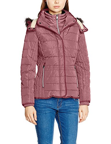 TOM TAILOR Casual Padded Jacket, Giacca Donna, Viola (Crushed Purple), 40