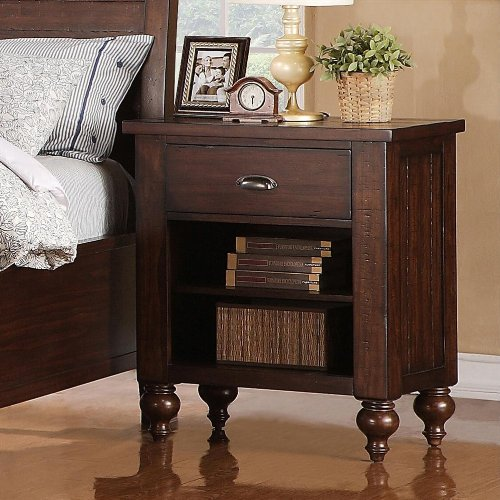 Ash Bedside Table 175407 front