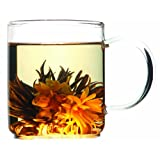 Teas Etc 4-Piece  Flowering Tea Gift Set with Brew Mug ~ Teas Etc