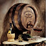 French Wine Barrel Wall Sculpture [Kitchen]