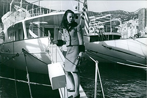 vintage-photo-of-princess-maria-beatrice-of-savoy-walking-on-the-bridge-of-a-yacht