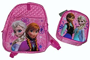 Frozen Pink Backpack and Lunch Tote Lunch Box