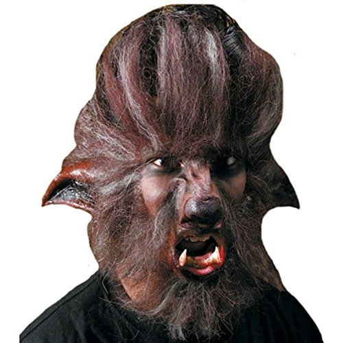 [Popcandy Reel FX Wolfman Werewolf Dog Appliance Prosthetic Kit] (Prosthetic Fx Makeup Halloween Masks)