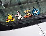 ディズニー くまのプーさん Winnie the Pooh Friend デカール カー ステッカー 車 窓 (並行輸入品)