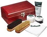 [コロニル] Collonil キット Shoe Care Kit 木箱セット 6000 8.8cmx22.8cmx13.8cm CN044002 (MahoganyF)