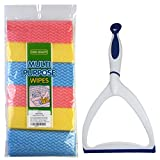 SUPER VALUE COMBO!! 6 HOKIPO Cleaning Wipes + Neco Window Cleaning Wiper