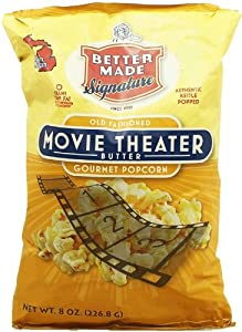 Better Made old fashioned movie theater butter popcorn, 8-oz. bag