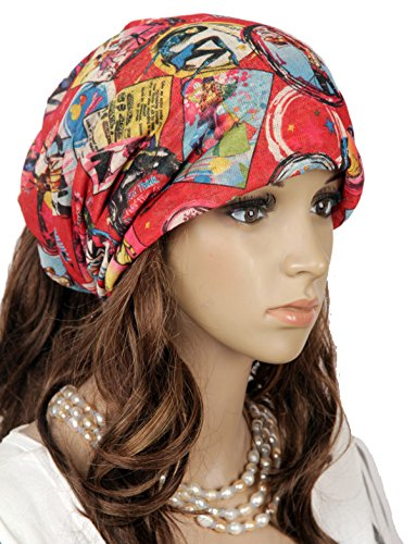Fashional Women Girls' Hip Hop Hat Warm Baggy Ski Beanies Skull Wrap Hats Cap