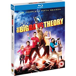 The Big Bang Theory - Season 5 (Blu-ray + UV Copy) [ORIGINAL] [Import angla