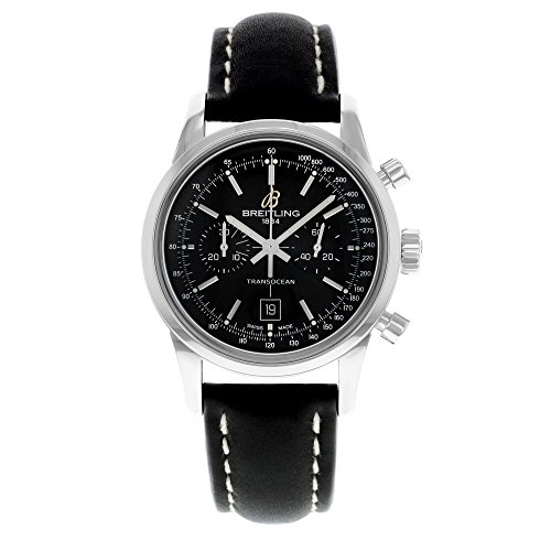 Breitling Transocean Chronograph 38 Mens Watch A4131012/BC06