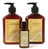 Amir Argan Oil Shampoo and Conditioner Duo (12 oz) with a FREE Travel Moisturizer (2 oz) Set