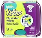 Pampers Kandoo Flushable Wipes, Magic Melon, 50 Count (Pack of 6)