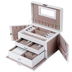 Songmics natale regalo portagioie scatole per gioielli for Elettrodomestici da regalare
