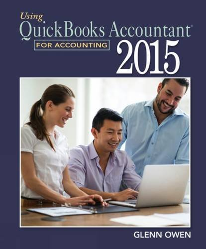 Using QuickBooks Accountant 2015 for Accounting (with QuickBooks CD-ROM)