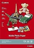Canon - Matte Photo Paper MP101 - papier photo - A4 - 50 feuilles