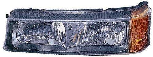 Depo 335-1604R-US Chevrolet Silverado/Avalanche Passenger Side Replacement Parking/Signal Light Unit Style: Passenger Side (RH)