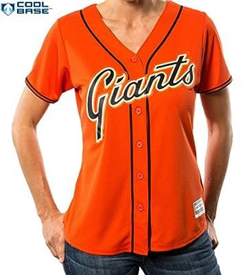 San Francisco Giants MLB Women's Cool Base Alternate Jersey Orange