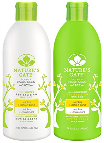 Nature S Gate Jojoba Revitalizing Duo Set Shampoo Conditioner