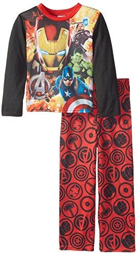 Marvel Avengers Big Boys' Hero Flares 2 Piece Pajama Set