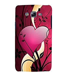printtech Love Heart Design Back Case Cover for Samsung Galaxy J2 / Samsung Galaxy J2 J200F
