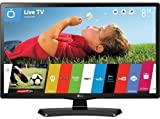 LG 24MT48S 24 inch Smart TV HD Ready 720p with WebOS (2016 Model) - Black