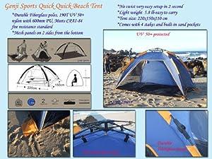 Push up instant Beach Tent Beach Sunshelter