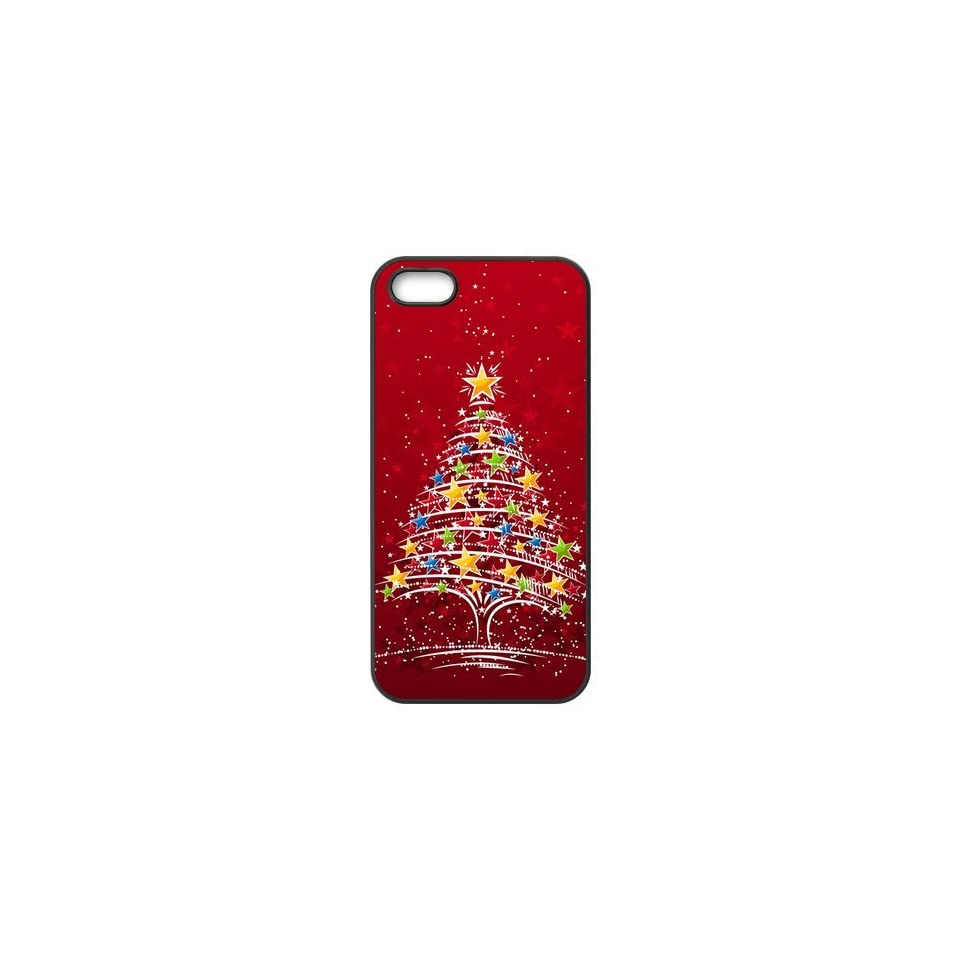 Top Iphone Case Beauty Lovely Funny Christmas Design for TPU Best Iphone 5/5s Case (black) Cell Phones & Accessories
