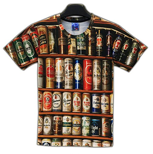 pizoff-men-t-shirts-black-round-neck-short-sleeve-3d-printing-beer-pattern-fashion-comfortable-unise