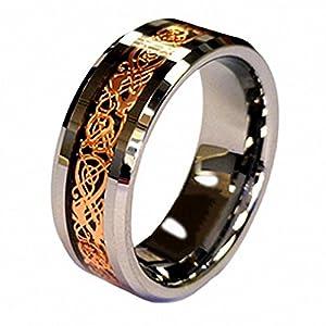 Tungsten Wedding Bands Celtic 70 Fabulous