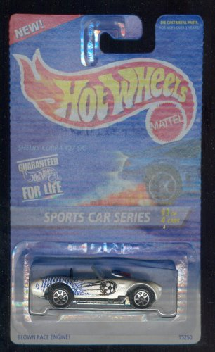 Hot Wheels 1995-406 Shelby Cobra 427 S/c 3 of 4 1:64 Scale - 1